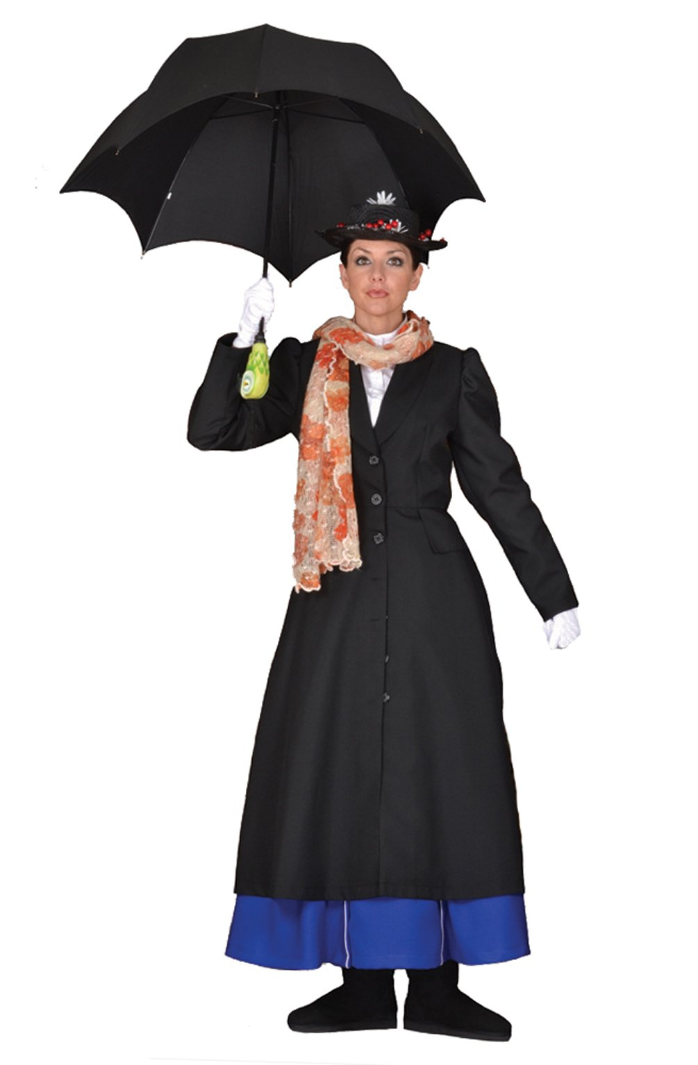 Deluxe Mary Poppins Costume- Theatrical Quality (Large)