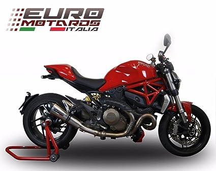 Ducati Monster 821 >> Amazon Com Ducati Monster 821 2015 2016 Gpr Exhaust Systems Gpe Ti