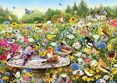 The Secret Garden - Greg Giordano - 1000 Piece Jigsaw Puzzle by Gibsons