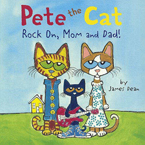 Pete Cat Rock Mom Dad