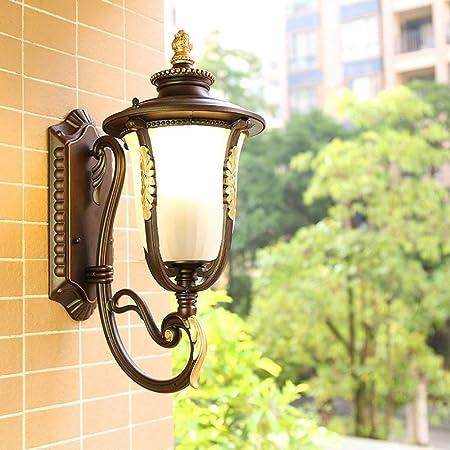 Aluminum Outdoor Exterior Lantern Wall Lighting Fixture Rusted  Sconce Hanging S