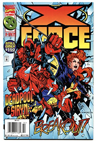 X-FORCE #47-DEADPOOL-SIRYN-MOVIE COMING!--HIGH GRADE-MARVEL! -