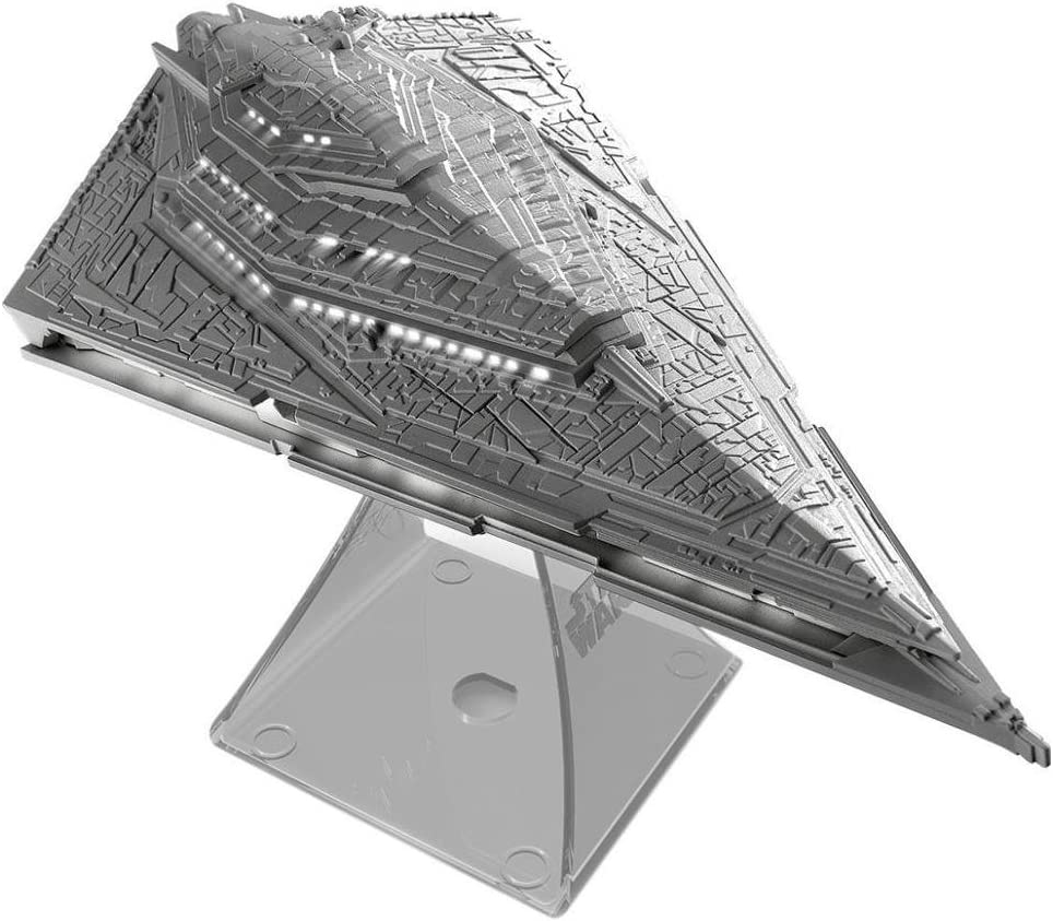 iHome Star Wars Villain Destroyer Flagship Portable Rechargeable Bluetooth Wireless Speaker, Gray Non-Retail Packaging