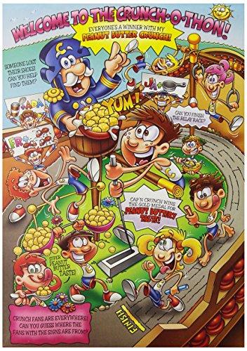 030000065075 - Cap'N Crunch, Peanut Butter, 12.5-Ounce (Pack of 14) carousel main 4