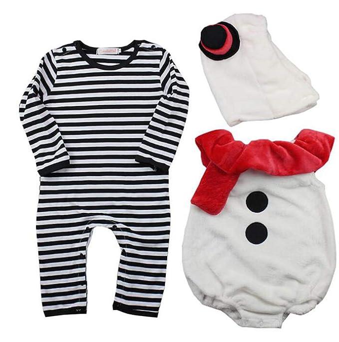 Keephen 3pcs muñeco De Nieve De Disfraces para Niños: Amazon.es: Ropa y accesorios