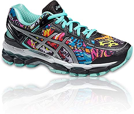 ASICS Gel-Kayano 22 NYC Womens Zapatillas para Correr - 44.5: Amazon.es: Zapatos y complementos