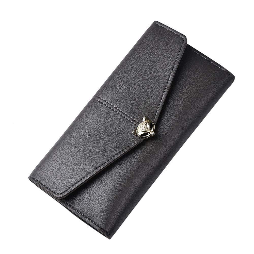 Amazon.com: 2017 Fashion Clutch Female Wallet Women Pu ...