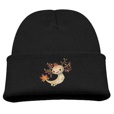 Axolotl Funny Cartoon Kid SOF Warm Hats Lovely Cotton Caps Beanies