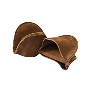 Leather Pot Holder Mini Oven Mitt Oven Cooking Pinch Grips (2-pack) Handmade by Hide & Drink :: Swayze Suede