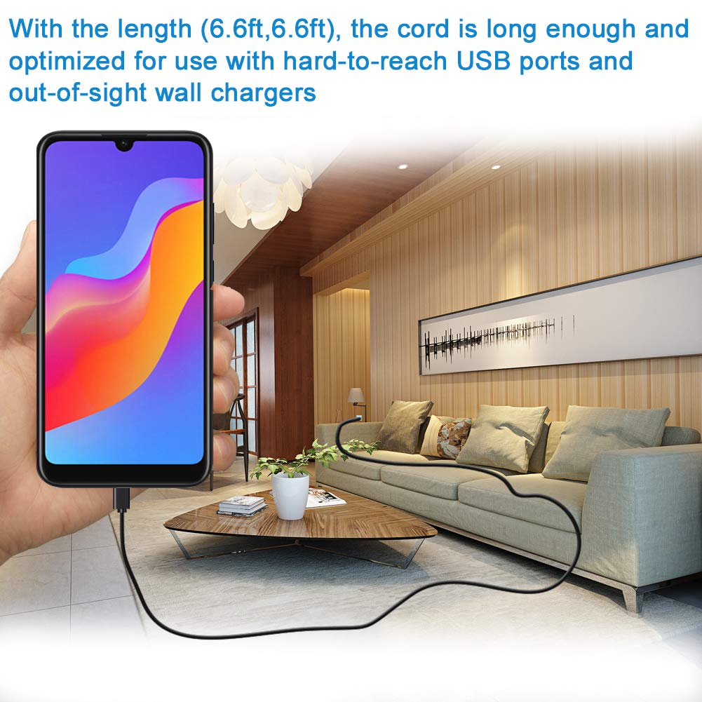 Micro USB Cable Android,2-Pack 6FT Micro USB to USB A High Speed Android Charger Cord,Quick Charging Cable for Samsung Galaxy S6 S7 J7 Note 5,Kindle,Xbox,PS4 Controller Wire,Playstation 4 Dualshock 4 Coolamore