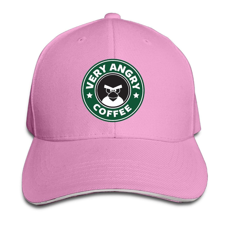FOODE Very Angry Coffee Angry Birds Peaked Baseball Cap Snapback Hats