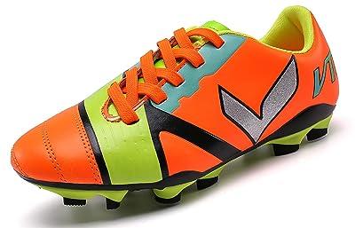 VITIKE Kids/Womens Turf Shoes Football/Soccer Baseball/Softball Cleats