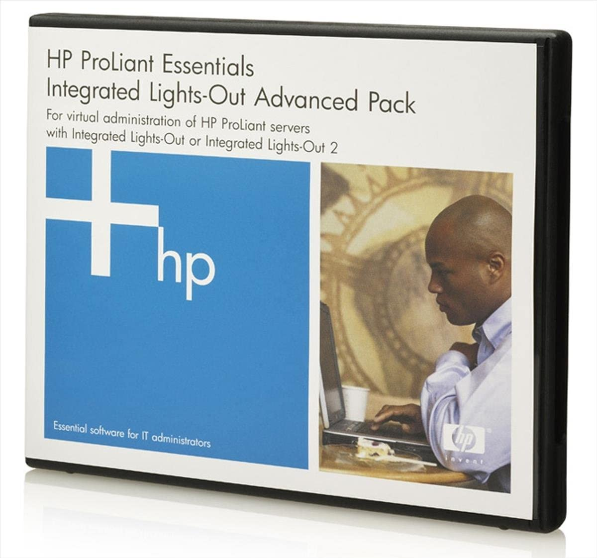HP Integrated Lights-Out Advanced with 3 Year 24x7 Support Single Server Lice