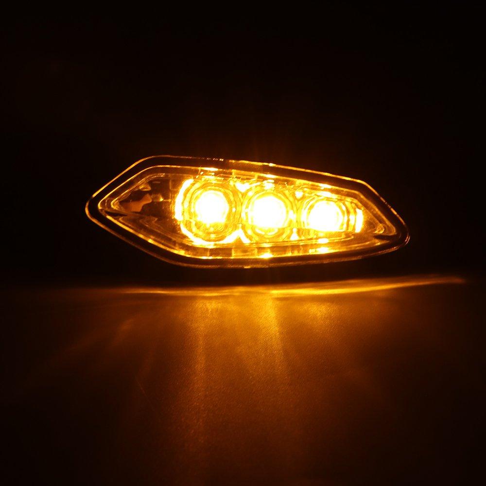 Fits Yamaha FZ 07 LED Turn Signal Light FZ 09 FZ 07 2014 2015 2016 2017 2018 VicsaWin