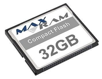MaxRam 32 Go carte mémoire Compact Flash  Amazon.fr  Informatique 270df40d557