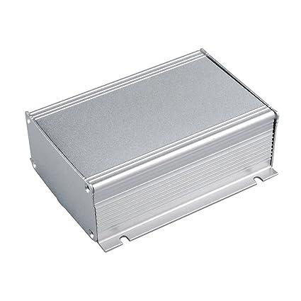 eightwood extruded aluminum project box electronic enclosure case rh amazon com