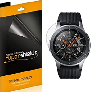 Samsung Galaxy Watch (46mm) Screen Protector by Supershieldz, High Definition Clear Shield [6-Pack]