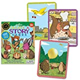 eeBoo Create and Tell Me A Story Cards, Animal