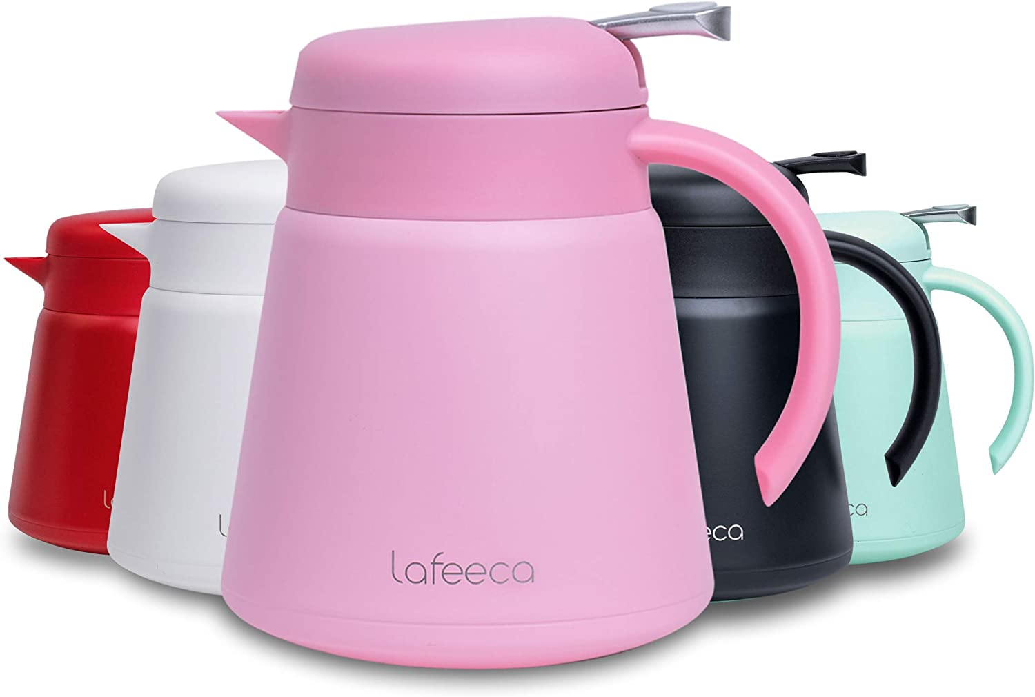 500 ml preowned thermal insulation kettle white