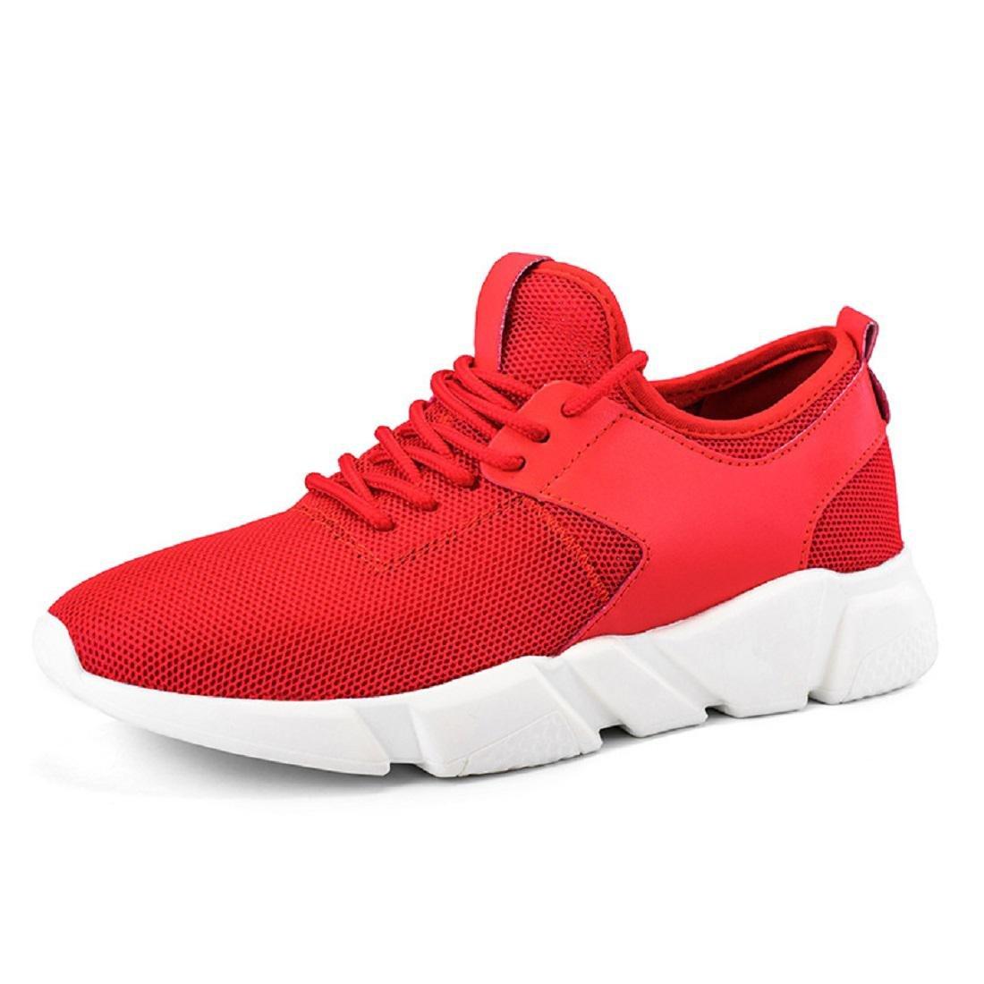 Herren Atmungsaktiv Herbst Draussen Sportschuhe Mode Laufschuhe Trainer Licht Flache Schuhe Schuhe erhöhen EUR GRÖSSE 39-44