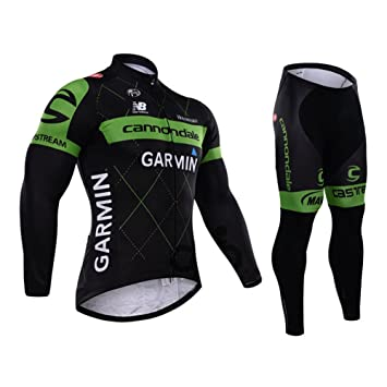 Strgao 2016 Men s Pro Team MTB bike Bicycle Winter Thermal Cycling Long  Sleeve Jersey and Pants 3d106a753