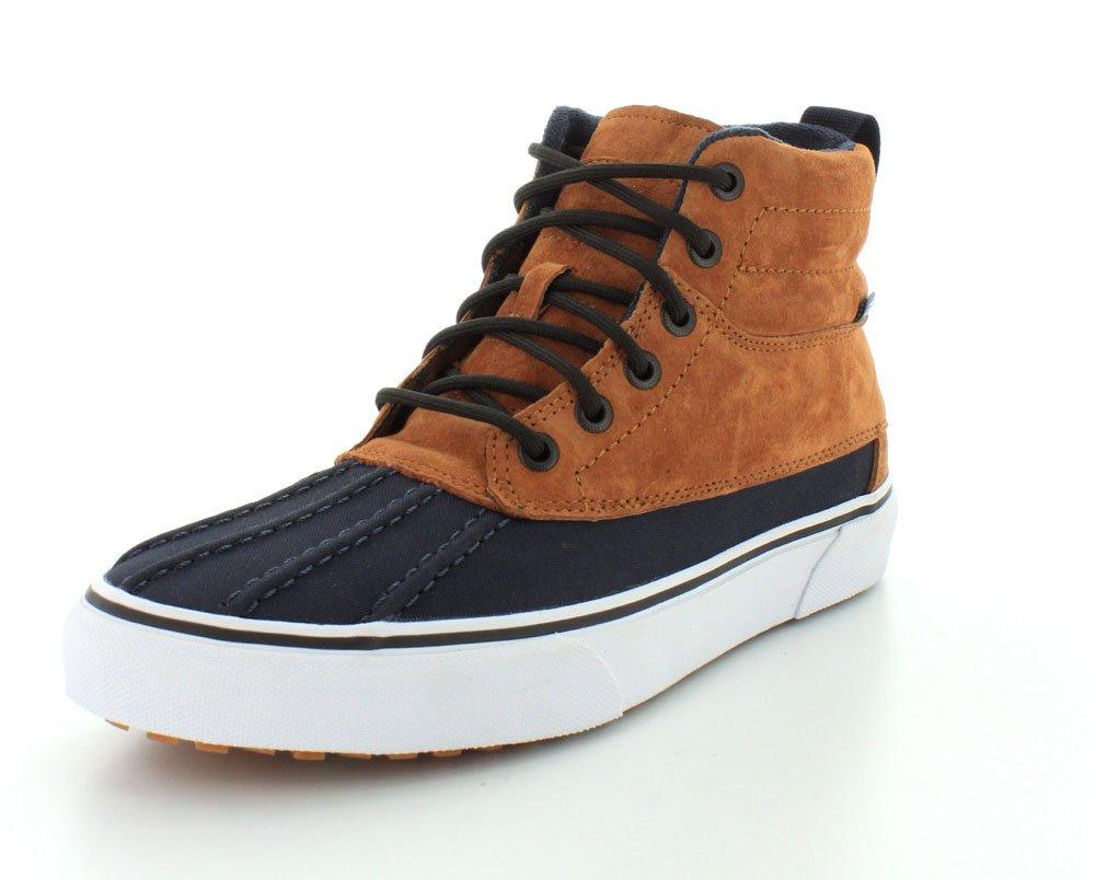 Vans Mens Sk8-Hi Del Pato MTE Sneaker B00WTNLYEW 5.5 B(M) US Women / 4 D(M) US Men|Ginger/Navy