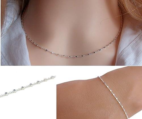 ensemble collier bracelet femme