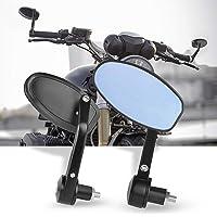 Espejos Retrovisores de Moto,7/8''Retrovisores Moto Espejos Moto