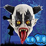 Amosfun Halloween Cosplay Mask Horrific Mask Creepy