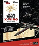 IncrediBuilds: Star Wars: X-Wing 3D Wood Model