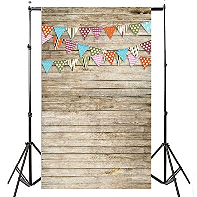3x5ft New Fashion Romantic Snowing Dreamlike Vinyl Thin Backdrop,Photography Background,Wooden Board Wall Theme,Flags,Children Party Scene