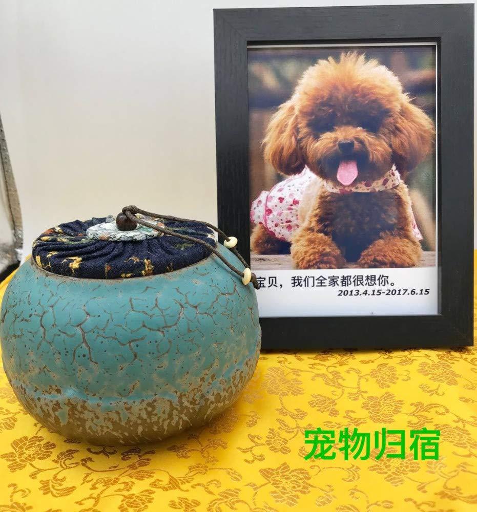 O Winpavo Urn Cremation Keepsake Ashes Urns Pet Urn Box Dog Cat Casket Cremation Tanks Funeral Pet Urns, C