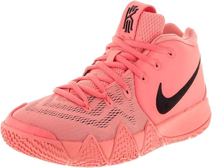 Atomic Pink Nike Kyrie 4 Amazon.com: Nike Kids Kyrie 4 (GS) Lt Atomic Pink/Black Basketball ...