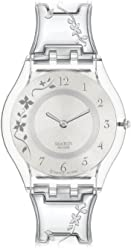 swatch Womens SFK300G Stainless Steel Watch