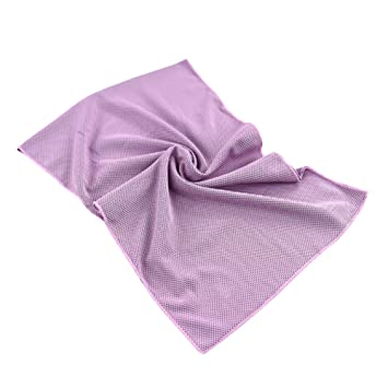 giveme5 refrigeración toalla para alivio instantáneo – Cool bolos Fitness Yoga toallas uso como refrigeración cuello