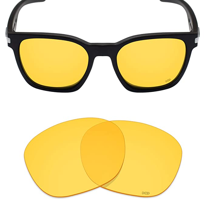 06412720a9 Mryok+ Polarized Replacement Lenses for Oakley Garage Rock - HD Yellow