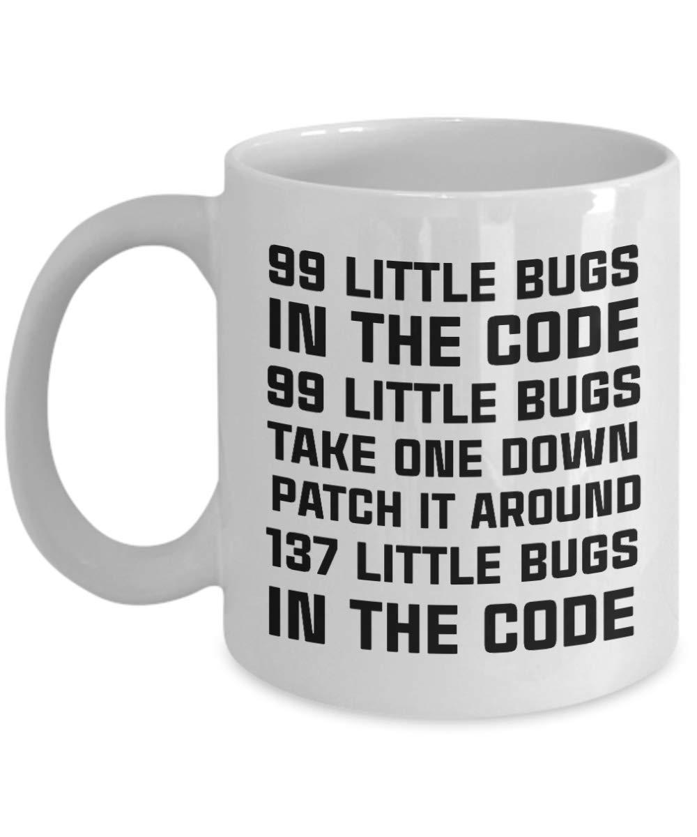 Amazon com: 99 Little Bugs In The Code Mug, 11 oz Ceramic