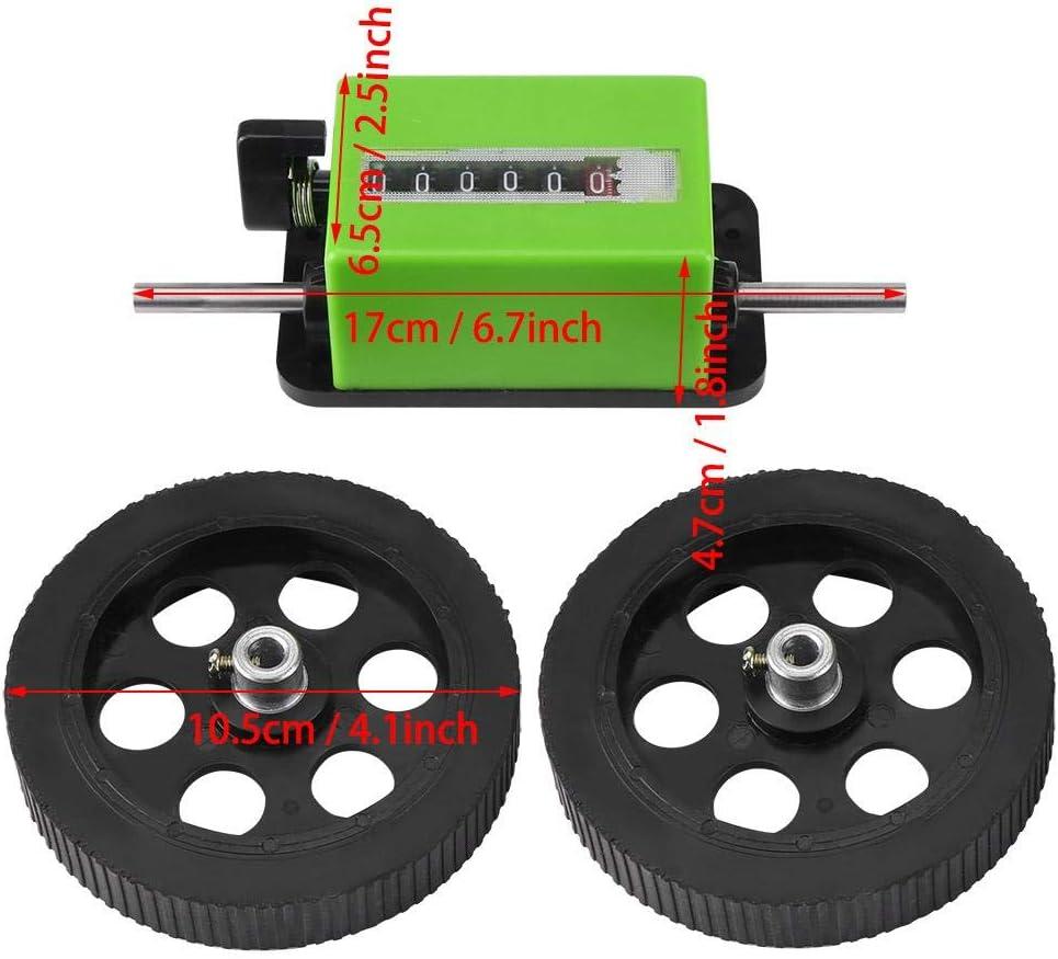0-99999.9 metros contador de rueda rodante Contador de longitud mec/ánica contador de medidor