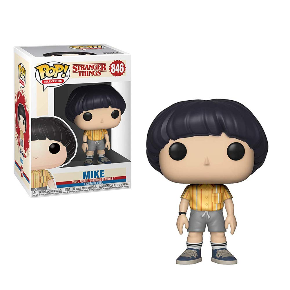 Funko- Pop Figura de Vinilo: TV: Stranger Things-Mike ...
