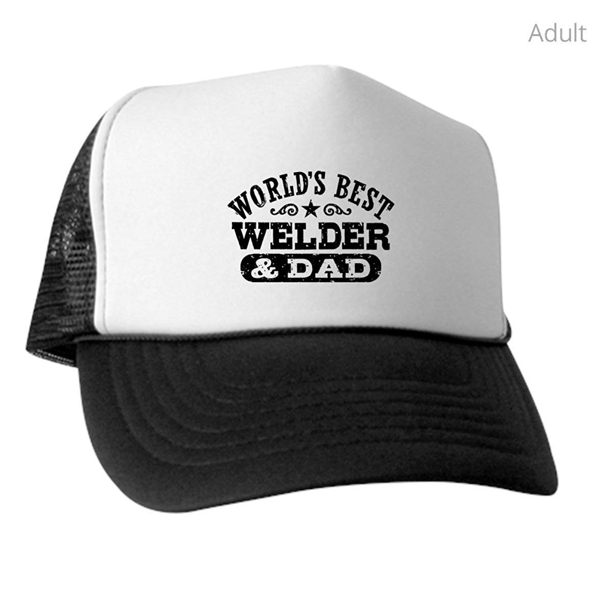 LUDEM Worlds Best Welder and Dad Trucker Hat Classic Baseball Hat Unique Trucker Cap