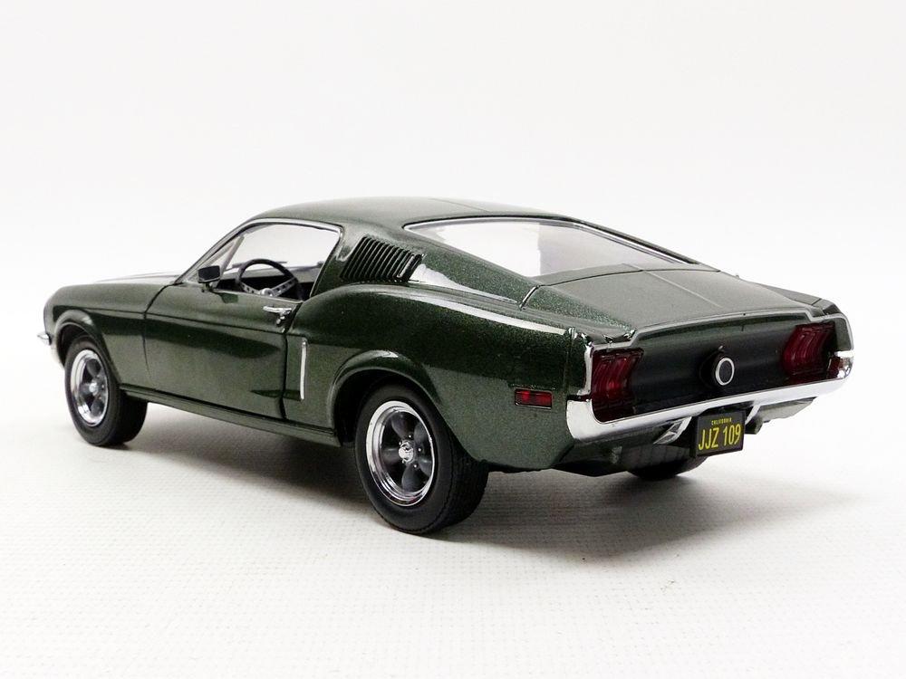 Greenlight - (1:24 Scale Bullitt (1968) - 1968 Ford Mustang GT Fastback - 84041 by Greenlight (Image #4)