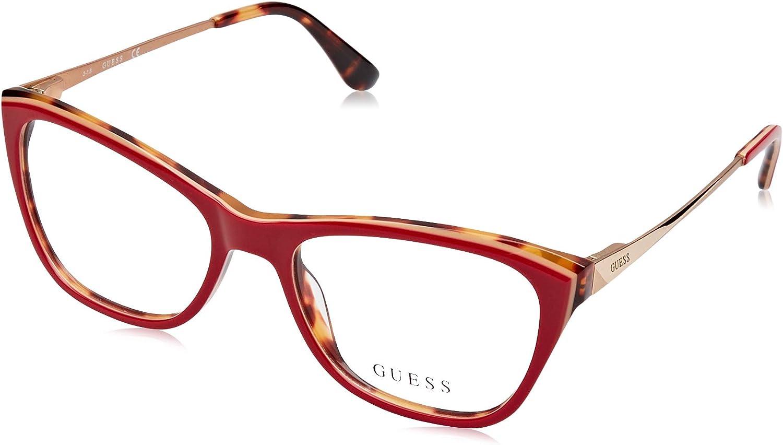 Guess Unisex-Erwachsene GU2604 068 52 Brillengestelle -
