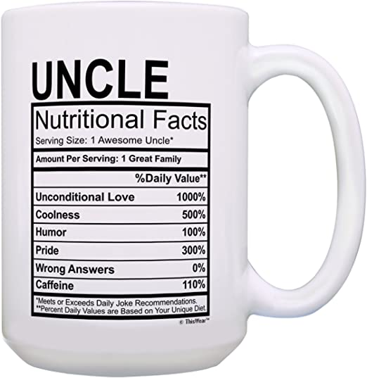 Awesome Uncle Mug Funny Joke Gift For Uncle Present