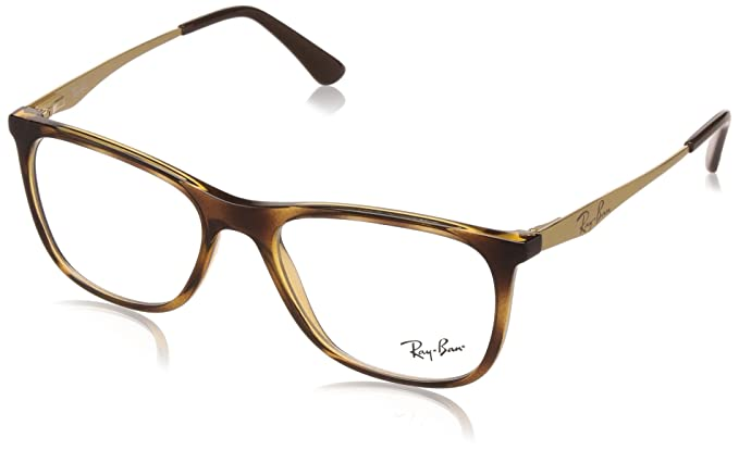 Ray-Ban Full Rim Square Men\'s Spectacle Frame - (0RX7115II800853 53 ...