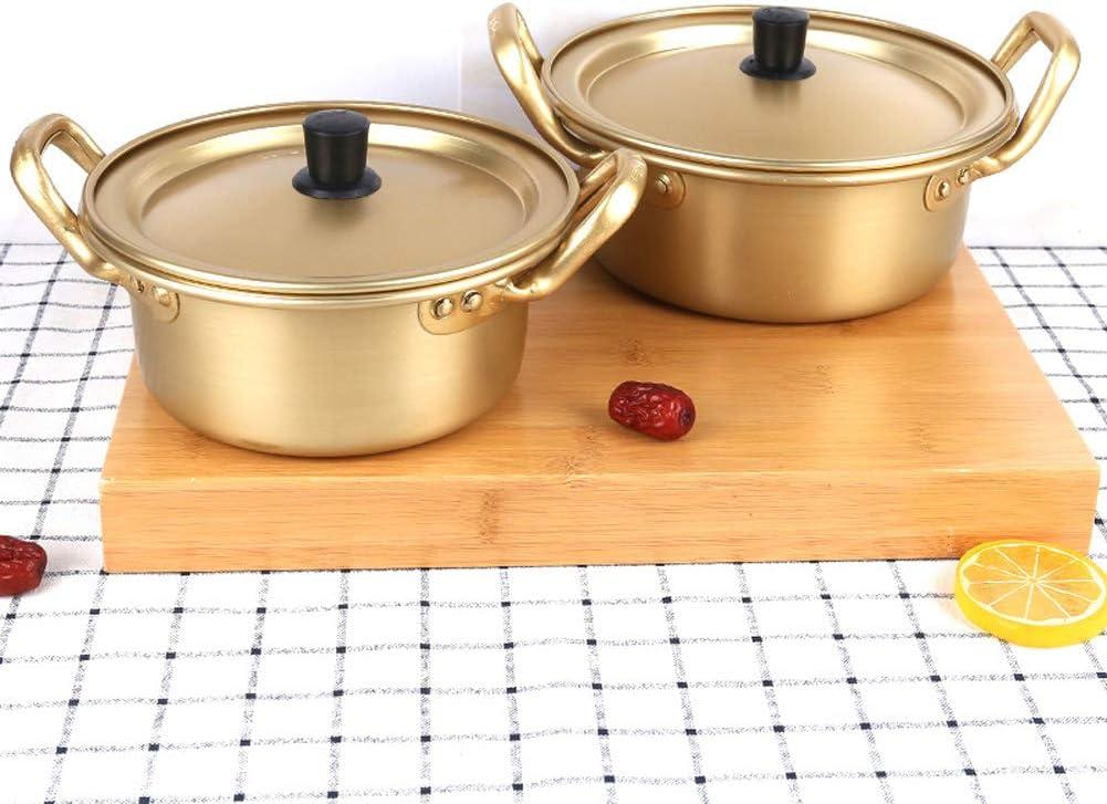 Achicoo Suppentopf, Aluminium + Oxid-Beschichtung, Topf für Hot Pot, Instant-Nudeln, gekocht 14 cm 24 Cm