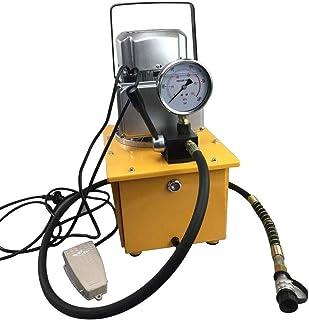 YIYIBY Hydraulikpumpe 10000PSI Elektrische Elektrohydraulikpumpe 70MPA 750W Hydraulikaggregat Mit Manuelle Ventil
