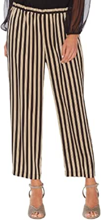 Vince Camuto Womens Striped Pull On Pants