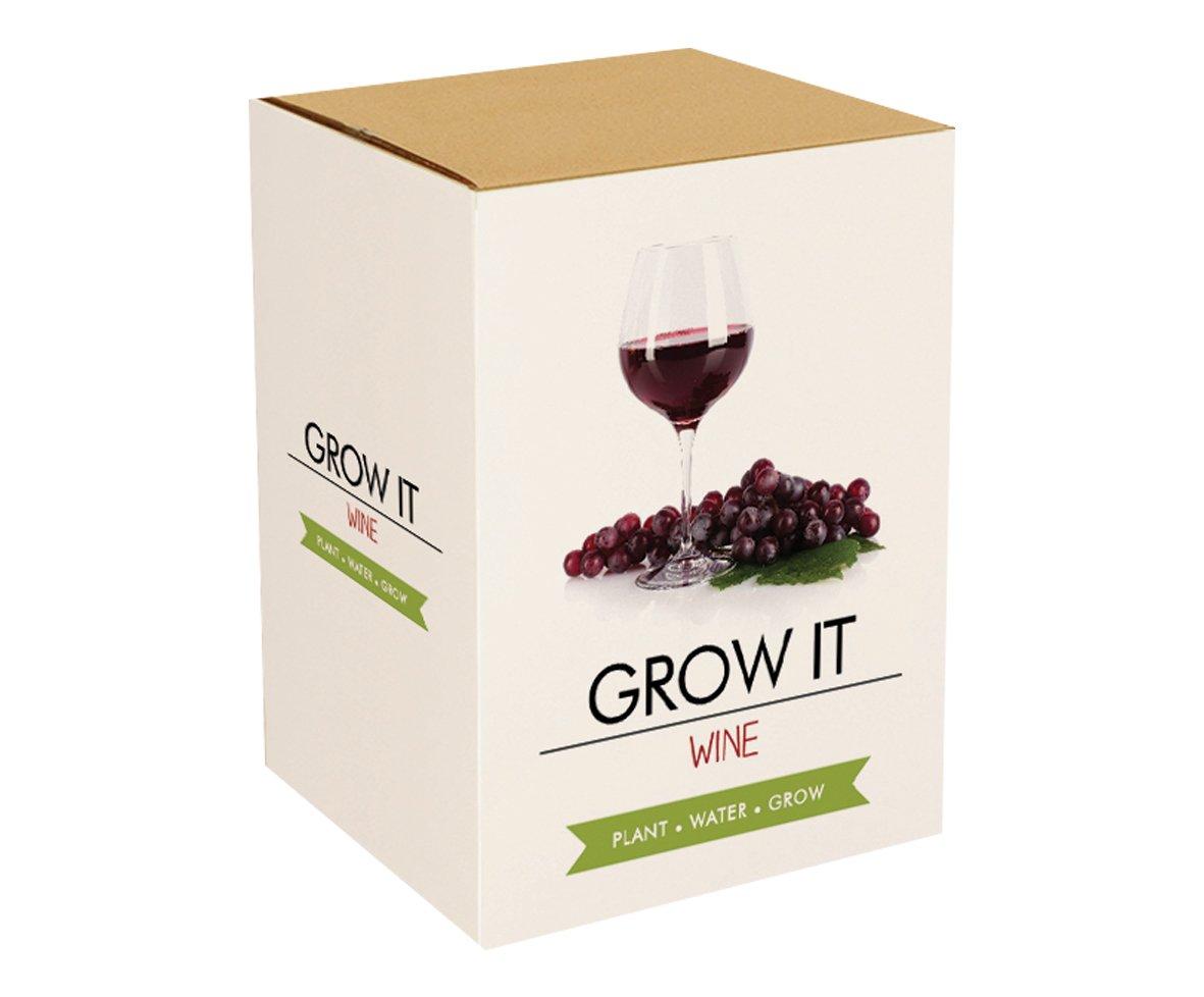 GROW IT Wein - Geschenk - Anzuchtset Gift Republic 8033439