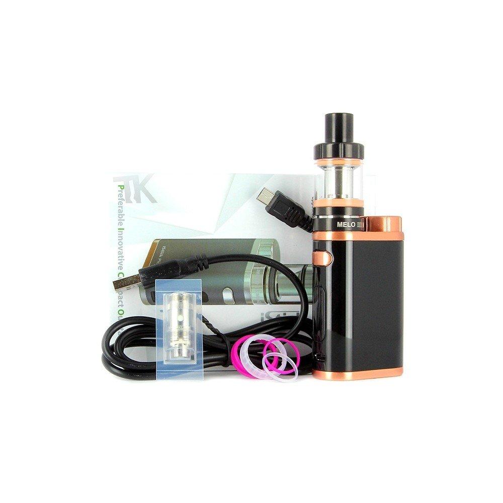 Eleaf iStick Pico TC 75W / MELO 3 Mini Kit bronce blanco (sin nicotina, sin tabaco)