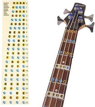 Fliyeong - Diapasón de guitarra de alta calidad - Diapasón para ...